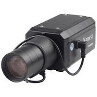 VANXSE CCTV 6-60MMオートアイリスバリフォーカルズームレンズ1/3ソニーエフィオCCD 1000TVL / 960H CCTVセキュリティボックスカメラ