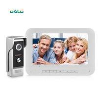 Video Door Phones Phone 4 Wire Intercom Home Security Access Control System Doorbell Camera For Villa Price