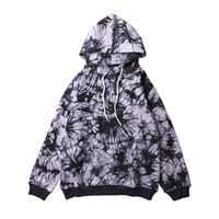 E-Baihui 2020 Autumn and Winter New Street Hip-hop Tie-dye Sweater, Men's National Trend Loose Wild Couple Hoodie SUR-1958