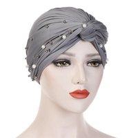 Bere / Kafatası Kapaklar Yaz Ince Dantel Türban Katı Pamuk İç Yumuşak Glitter Müslüman Kadın Bonnet Wrap Kafa UndersCarf Cap