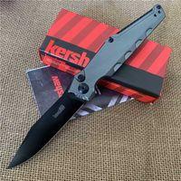 """Kershaw 7900/7 7900GRYBLK Lancement AUTO Couteau pliant 3,75"""" Noir CPM-154 clip Pointe Lame Aluminium Poignées Couteau cadeau"""