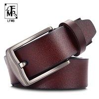 Cintos [lfmb] Cinto de couro homens masculinos desenhista genuína de alta qualidade para ceinture homme