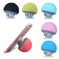 Nuovo Sport altoparlante portatile Bluetooth funghi con il microfono mini altoparlante per il calcolatore del telefono stereo di alta qualità Bass Speaker Buon
