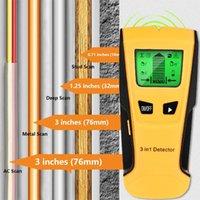 Timers Vastar 3 في 1 كاشف المعادن ابحث عن ترصيع الخشب AC الجهد المباشر سلك الكشف عن الجدار الماسح الضوئي مربع مكتشف