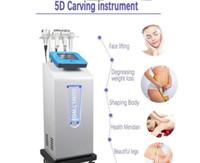 5D 80K التدليك التجويف التخسيس آلة / فراغ RF حرارة الجسم وآلة التجويف بالموجات فوق الصوتية مع مكركرنت فرشاة يمكن التخلص من العادات السيئة