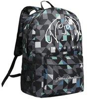 تخيل ظهره جون لينون Daypack حقيبة كلاسيكية موسيقى الروك المدرسية أوقات الفراغ حقيبة حقيبة مدرسية الرياضة حزمة اليوم في الهواء الطلق