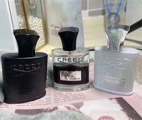 Neue Männer Parfüm 3pcs Deodorant Duft Duft Duftende Silver Mountain Wasser / Credo Aventus / Grün Irish Tweed 30ml Freies Verschiffen