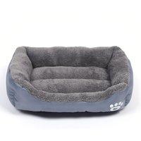 WHPC mayor para mascotas cama caliente Pequeño perro grande cama de la casa para los perros Gatos perro suave Nido impermeable de la perrera para Puppy All Seasons