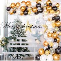 في سوق الأسهم الذهبي بالون سلسلة افتتاح القوس موضوع الزفاف حفلة عيد الميلاد خلفية جدار المشهد تخطيط الديكور