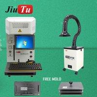 Jiutu الألياف الليزر آلة وسم LCD ل11Pro ماكس 8 8 زائد X XR الغطاء الخلفي مزيل فاصل