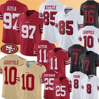 97 Nick Bosa 85 George San Kittle