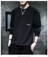 Fashion Casual Long Sleeve Spring Pullover Loose Homme Sweatershirts Mens New Designer Crew Neck Hoodies