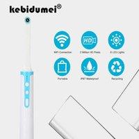 1080P HD داخل الفم التنظير واي فاي الأسنان 8PCS كاميرا الصمام ضوء USB كيبل التفتيش لطبيب الأسنان عن طريق الفم في الوقت الحقيقي الفيديو أداة الأسنان