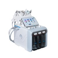 RF Face Levantamiento Dermabrasion Oxygen Jet Peel Aqua Facial Portátil Ultrasonido Micro Crystal Machine