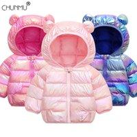Chaqueta de los bebés de la chaqueta 2020 otoño invierno para niñas cabritos de la capa caliente Outerwear niños ropa infantil muchachas cubre