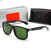 4185 Retro Polarizzato Designer Designer Designer Designer Occhiali da sole in oro placcato telaio quadrato Occhiali da sole Eyewear di moda con caso
