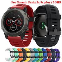 26mm ومعصمه لغارمين فينيكس 5X / 5Xplus / فينيكس 3 / فينيكس 3 HR الرياضة سيليكون watchband حزام استبدال الأزياء الذكية ملحقاتها
