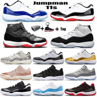 Nouveau 11 Basse Blanc Bred 11s Haule Heirress Night Maroon Jumpman Chaussures de basketball Pantone White Snake Pensez 16 Hommes Femmes Formatrices Sneakers