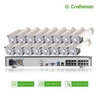 أنظمة XMEYE 16CH SONY 5MP كشف الوجه poe IP كاميرا نظام الأمن أطقم 335 الصوت للماء CCTV مراقبة الفيديو Ai Onvif NVR
