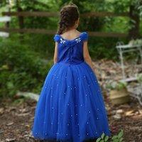 2020 Nuovo Cenerentola principessa Dress delle ragazze di estate Costume di Halloween per bambini Abbigliamento Dropshipping Un prodotto
