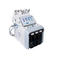 Analisador de pele Microdermoabrasão Máquina de aperto Facial Cleanser Radio Frequency Terapia Microcurrent Galvânica Hydro Hydrodermabrasion