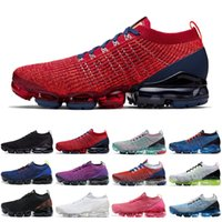 Nike air vapormax flyknit fly 3.0 zapatillas de running hombre mujer South Beach Triple Black Blue Fury Flash Deep outdoor hombre zapatillas deportivas zapatillas de deporte