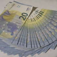 Barra de discoteca Bar de alta calidad Pretendo Euro 20 Copia Billete de banco Fake Movie Money Play Money 100pcs / Pack