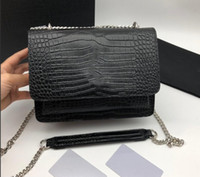 حقائب الأزياء حقيبة يد سيدة حقيبة كتف جلد طبيعي مع رسائل فتاة حقائب اليد الجميلة