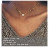 Collier en acier inoxydable Classique de Chokers pour femmes de créateurs bijoux de luxe 2021 Déclaration