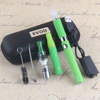 1 PCS MOQ EVOD 3 em 1 Vape Kit Seco Herb Vaporizador Caneta Globo Globo De Vidro Tanque MT3 Eliquid Atomizador Viagem Zipper Pacote