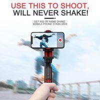 استقرار الهاتف selfie عصا فيديو اطلاق النار vlog مكافحة يهز مستقرة ترايبود لايف البث جهاز كاميرا الحركة المحمولة الهاتف استقرار