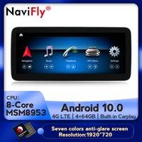 NaviFly 12,5 '' антибликовое 8Core 4G 64G ROM Автомобильный мультимедийный проигрыватель для G Class W463 G500 G550 2020-2020 автомобиля DVD