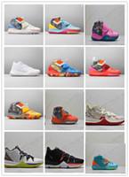 2020 جديد وصول الرجال Kyrie VI الرجال لكرة السلة أحذية Kyrie 5 6S 6 USA N7 بنين رياضة المرأة أحذية رياضية 5،5 حتي 13