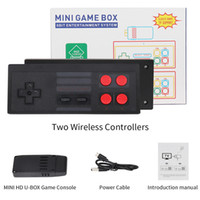 MINI HD OUT 1080P Caja de juego para 8 bits TV OUT 821 Game Wireless Game Console Video Games Pandheld para SFC NES Juegos Consolas Venta caliente Venta NIÑOS