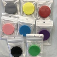 Supporto per telefono cellulare universale colorato con sacchetto opp colla reali in colla per presa espandibile a 360 gradi portata flessibile per telefono 9 colori