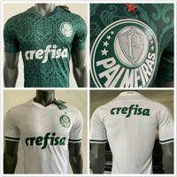 Version 20/21 Version du joueur Palmeiras L.Adri Jersey de football 2020 Maison Vert Borja Soccer Shirt Away # 7 Dudu Palmeiras Uniformes de football