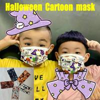 Halloween Weihnachten Cartoon Kid Erwachsene Designer-Gesichtsmasken Mode Kind 3 Schicht Einweg-Maske Schutz Junge Mädchen Mascarilla auf Lager