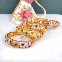 Bracelet Cloisonne Bracelet National Wind Clever l'émail 18kgp Bijoux 1pcs