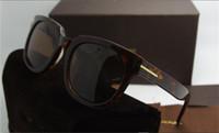 1 stücke Luxus Top Qualtiy Neue Mode 211 Tom Sonnenbrille Für Mann Frau Erika Eyewear Ford Designer Marke Sonnenbrille mit