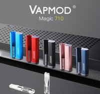 Подлинный VAPMOD MAGIC 710 Комплект Vape Battery батарея 380mah Предварительно нагревая VV Батарея 510 Коробка резьбы Мод для толстого масляных картриджей только 0,5 мл