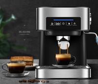 Kaffeemaschine 20bar Pump Espressomaschine Halbautomatische Espresso-Kaffeemaschine Home Coffe Maker Handel Milk Frabscher