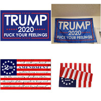 Amerikanische 2. Änderung Flagge New 2020 Trump Flag Act II-amerikanische Flagge US-General Election Flaggen 150 * 90cm XD23930