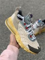 2020 Трэвис Скотт х 270S ENG Реагировать Кактус Трассы Джек кроссовки Starfish Dark Желто Мужчины Женщины Мода Спорт Дизайнер Sneaker