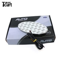 TCART 4D Auto Emblem Light Lamp LED Distintivo posteriore Sticker Light LED 4D Logo Emblemi per KIA