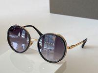 S532 nuovi uomini degli occhiali da sole di metallo Retro Style Moda rotonda Full frame Protezione UV 400 lente protettiva esterna Occhiali con la scatola di alta qualità