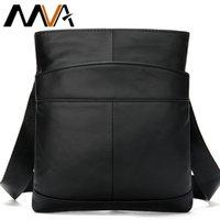 MVA Mens shoulder bag for men oil leather small messenger bag mens genuine leather crossbody males bags for men handbag 703