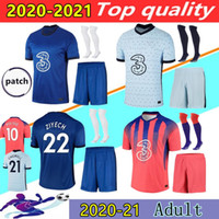 20 21 CFC 축구 유니폼 Chilwell Werner Ziyech T.Silva Kovacic Kante Willian Mount Footbal Shirt 2020 2021 Abraham Home Away Jersey Kits