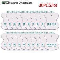 30pcs Des dizaines Electrodos tampons pour électrodes Digital Therapy Machine de dizaines électrodes Acupuncture du corps Massage Appareil de soins de santé