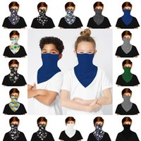 Children Cartoon Pure color Scarf Masks New Designer Tube Scarf Neck ultraviolet-proof Outdoor Breathable Sports Riding Anti Dust Masks
