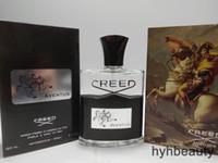 Creed Aventus Mens Eau de Parfum EDP 120ml 브랜드 뉴 향수 병 쾰른 향수 남성 오래 지속되는 좋은 냄새 parfum